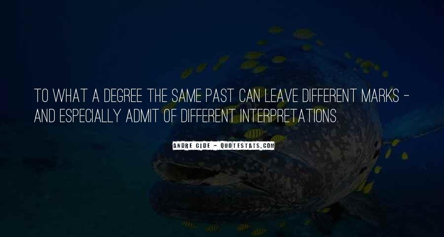 Quotes About Interpretations #1084178