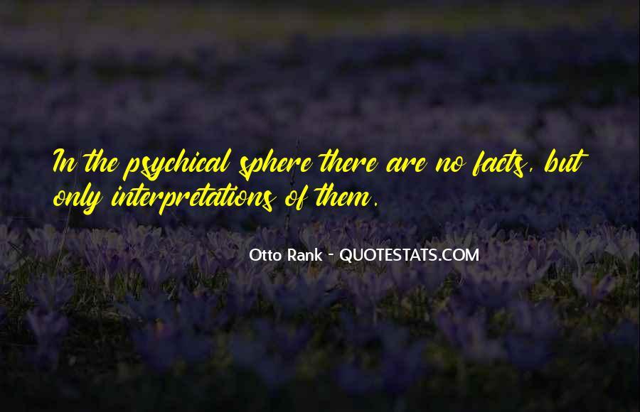 Quotes About Interpretations #126907