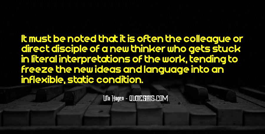Quotes About Interpretations #155191