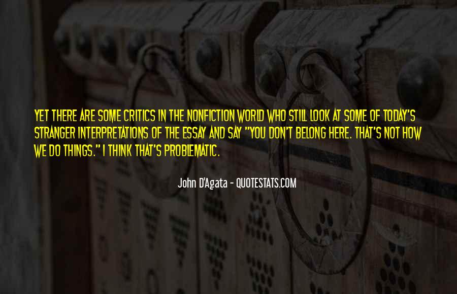 Quotes About Interpretations #177871