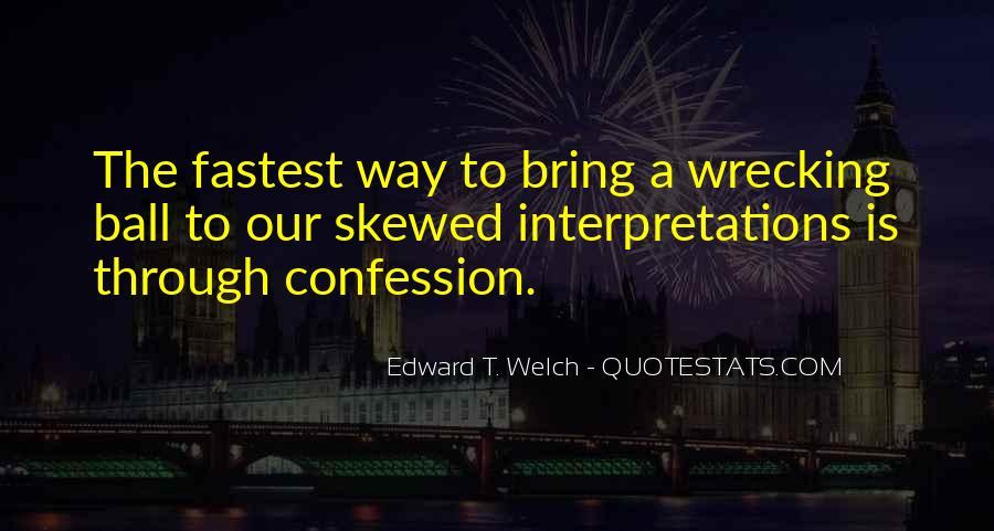 Quotes About Interpretations #204095