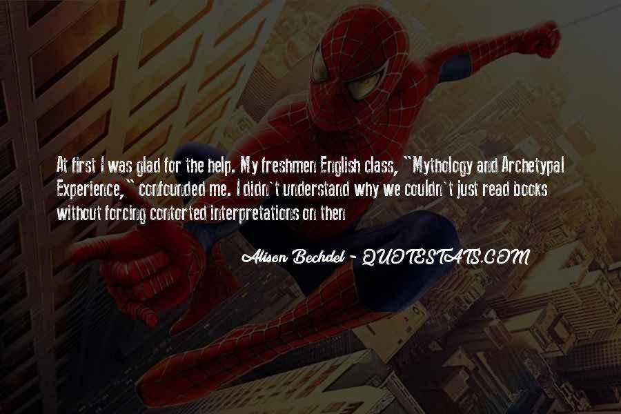 Quotes About Interpretations #224540
