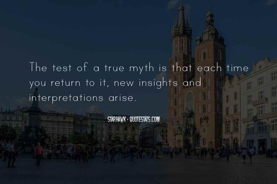 Quotes About Interpretations #231812