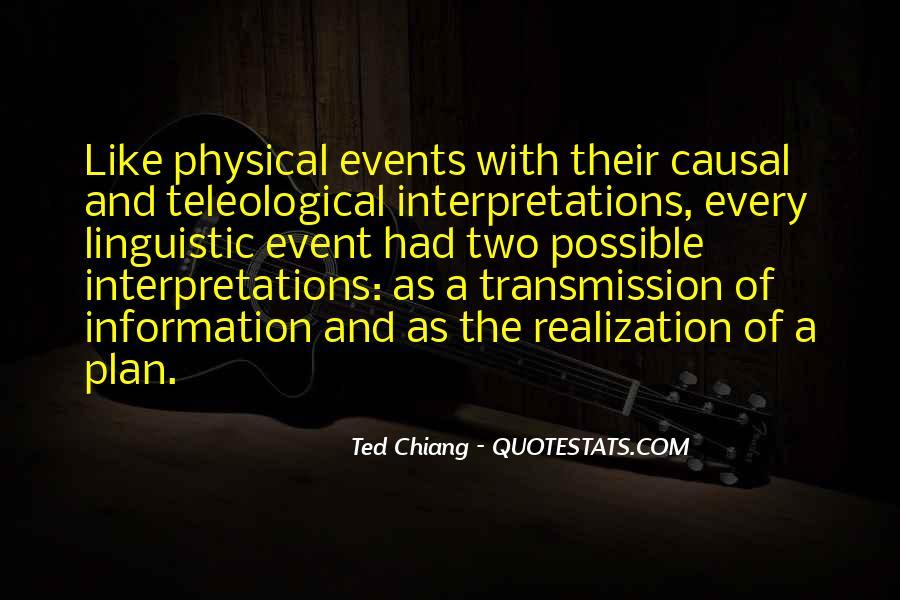 Quotes About Interpretations #262223
