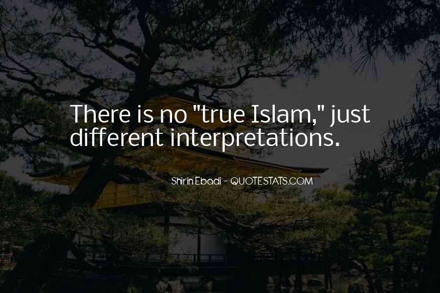 Quotes About Interpretations #32918