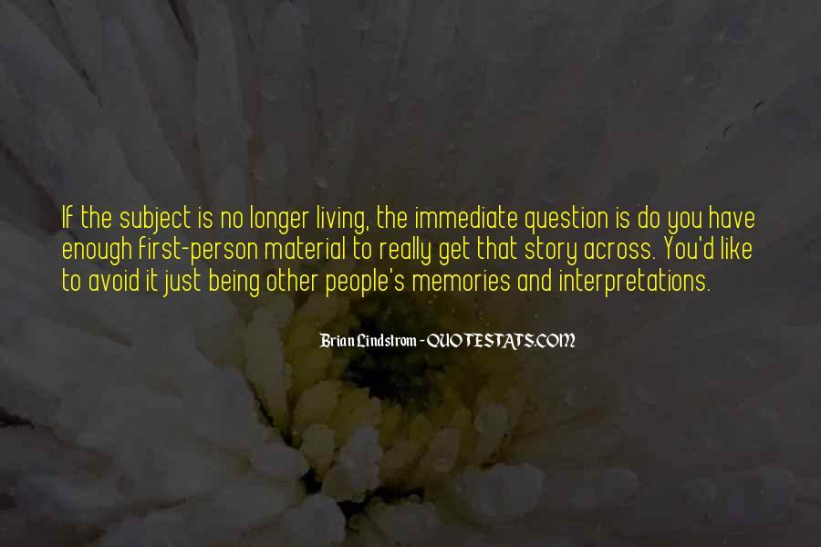 Quotes About Interpretations #332411