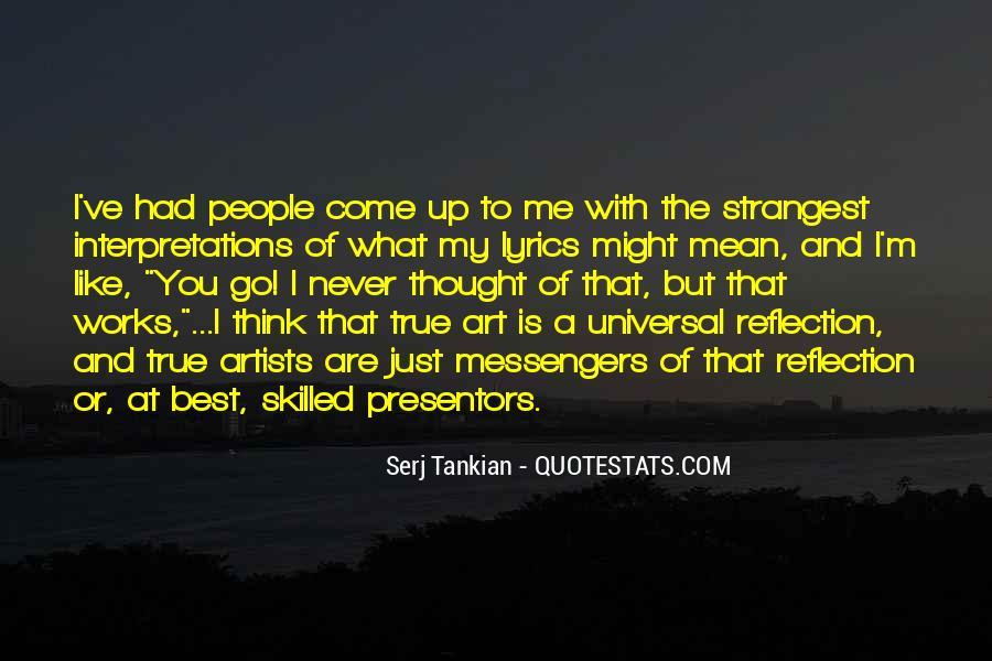 Quotes About Interpretations #33845