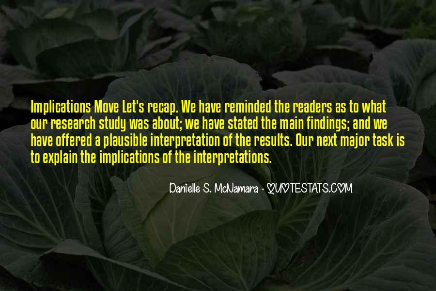 Quotes About Interpretations #345403