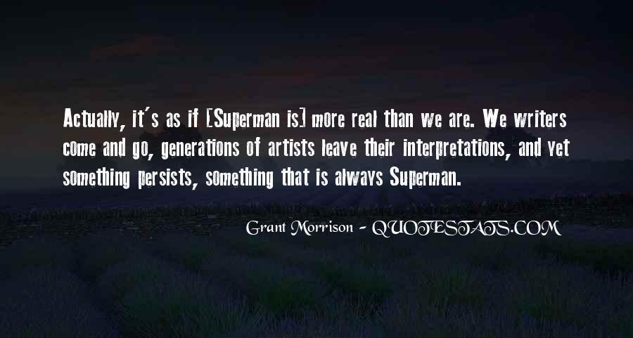 Quotes About Interpretations #366044