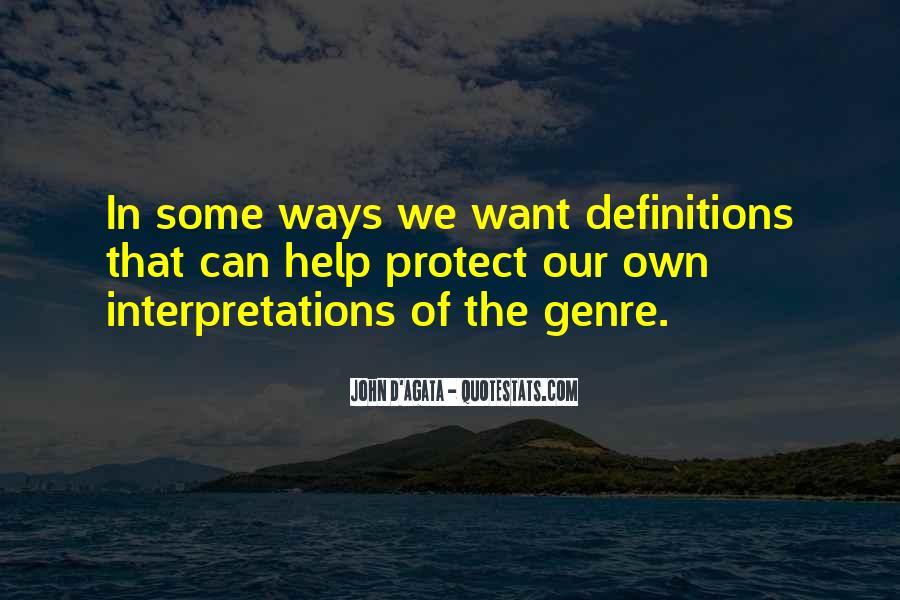 Quotes About Interpretations #395219