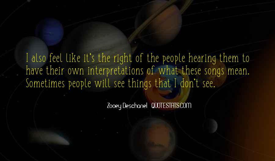 Quotes About Interpretations #407219