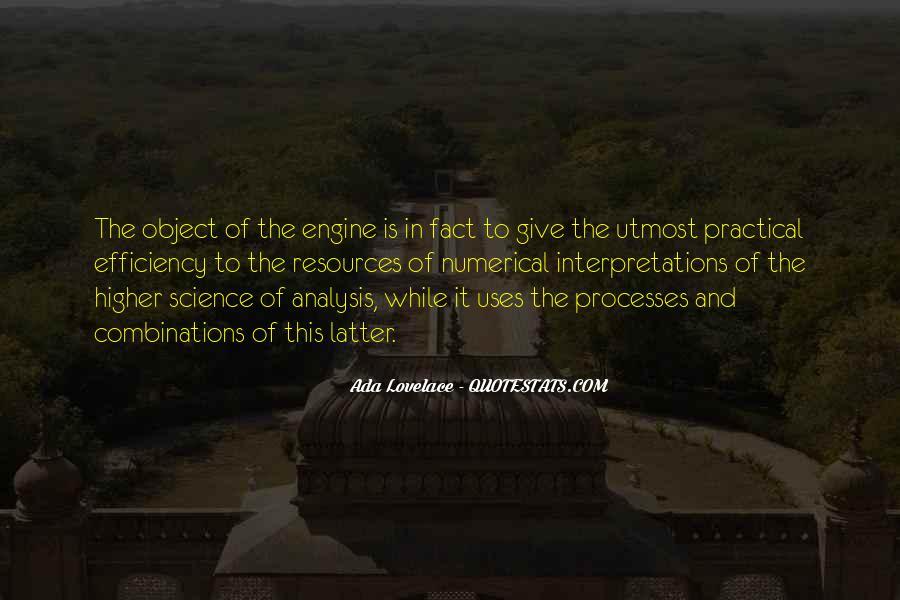 Quotes About Interpretations #466161
