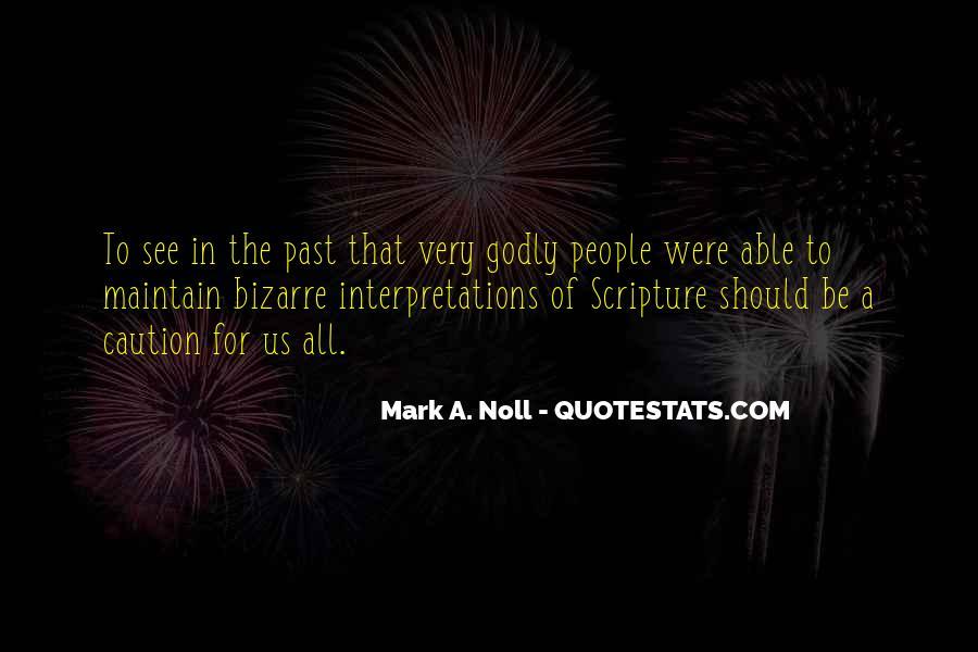 Quotes About Interpretations #466363