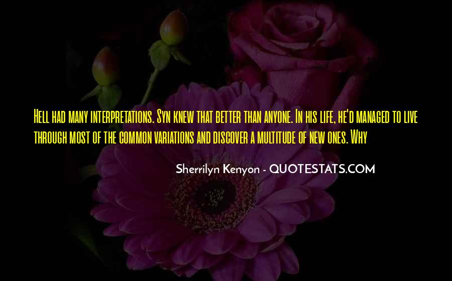 Quotes About Interpretations #474935