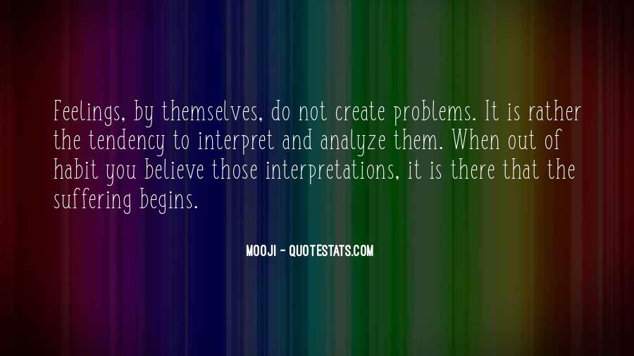 Quotes About Interpretations #576850