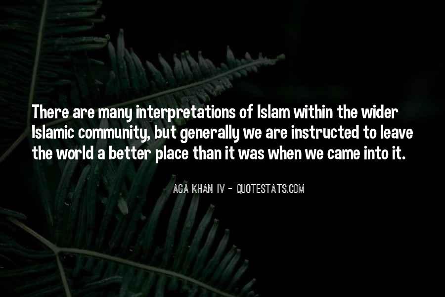 Quotes About Interpretations #607482