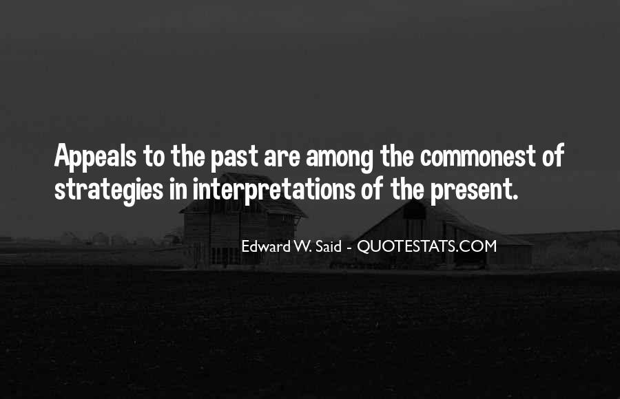 Quotes About Interpretations #675108