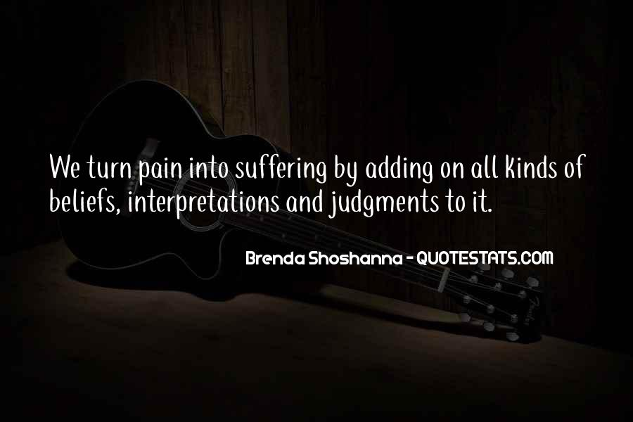 Quotes About Interpretations #691618