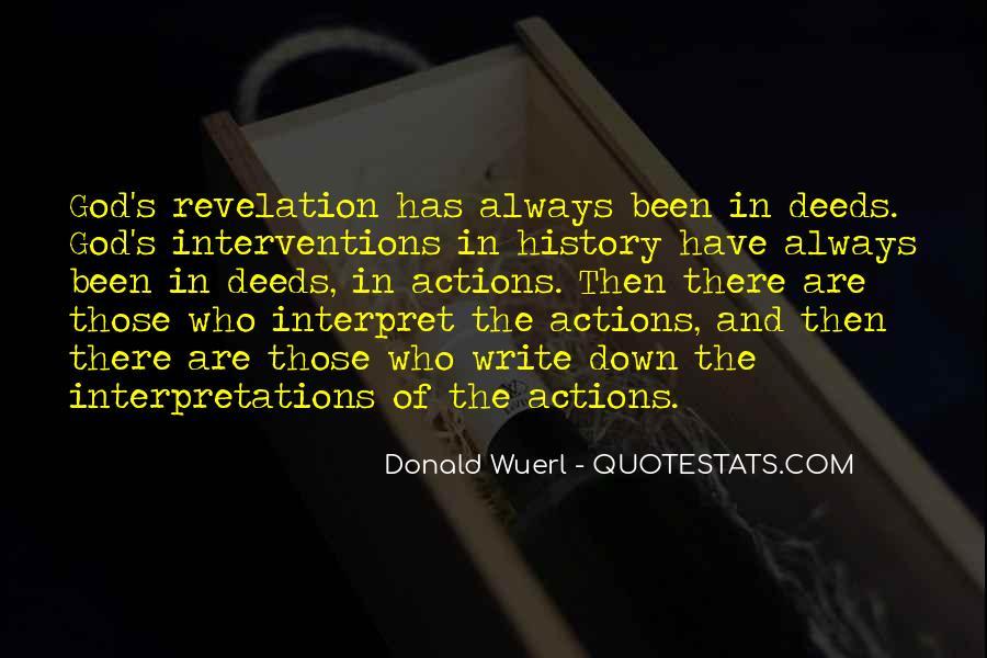 Quotes About Interpretations #695825