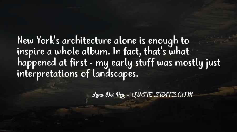 Quotes About Interpretations #715950