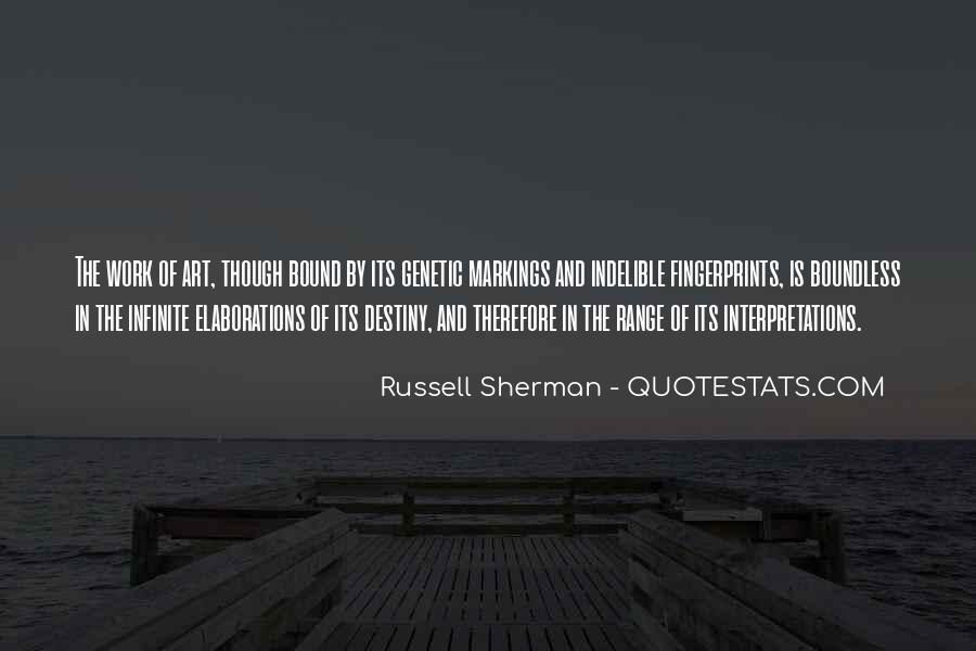 Quotes About Interpretations #728986