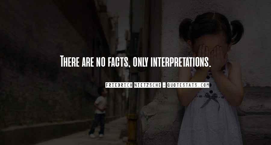 Quotes About Interpretations #799188