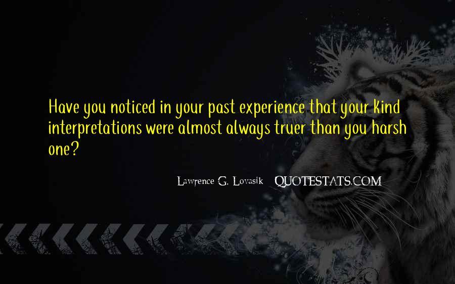 Quotes About Interpretations #89309