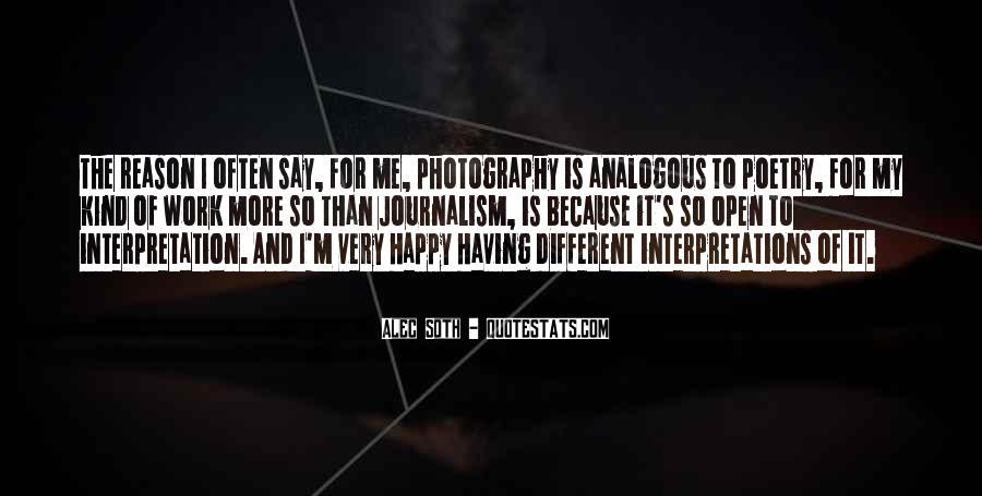 Quotes About Interpretations #997748