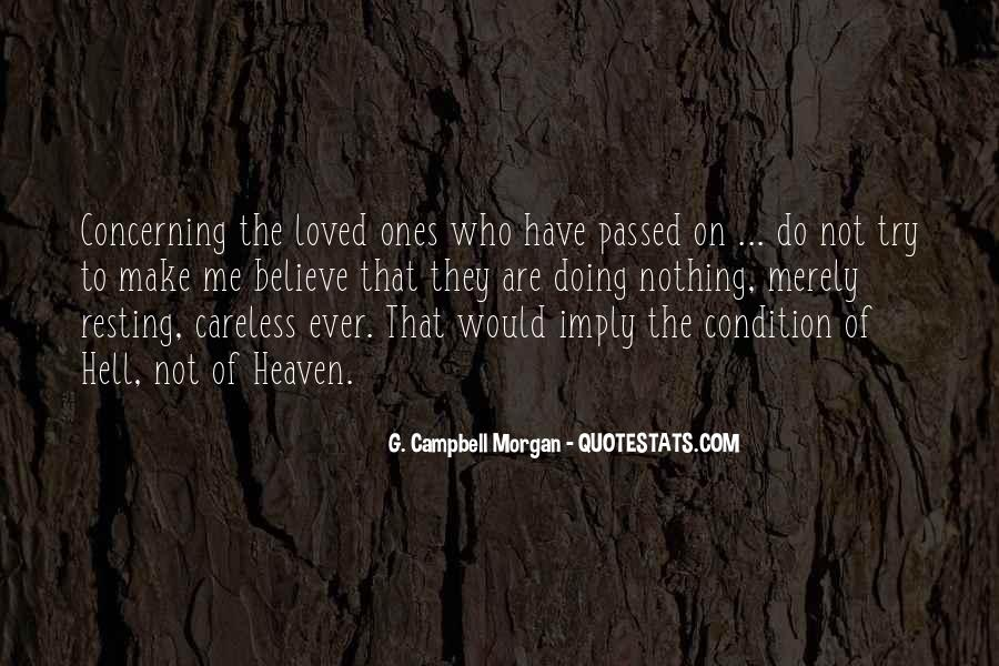 Quotes About Passed Loved Ones #1754256