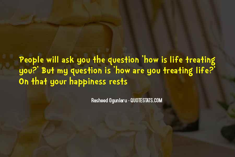 Quotes About Questioning A Relationship #1698096