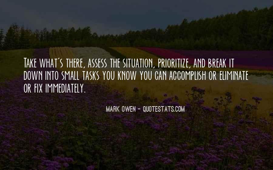 Quotes About Prioritize #1247759