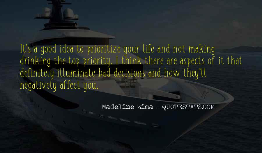 Quotes About Prioritize #192022