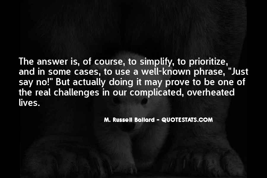 Quotes About Prioritize #212585
