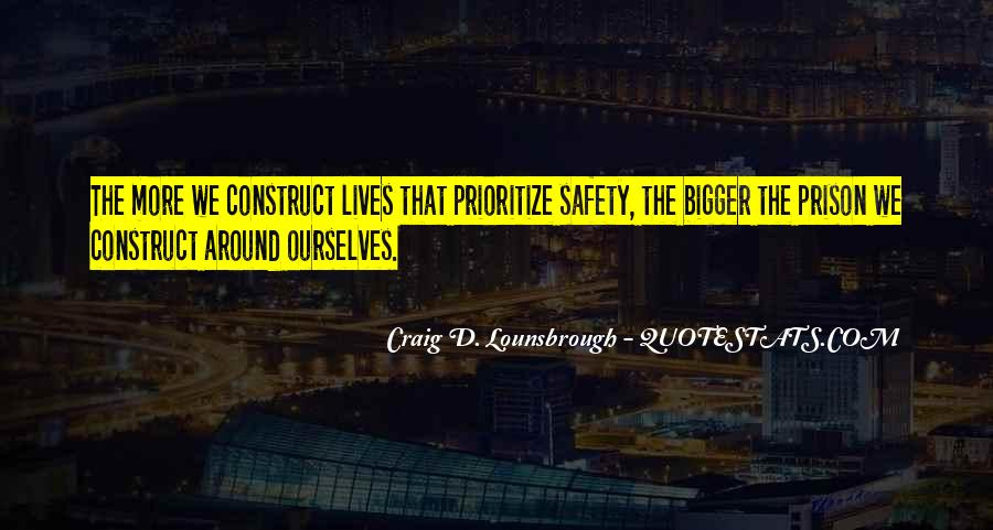 Quotes About Prioritize #319588