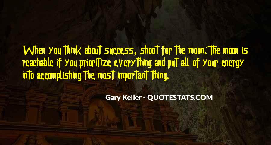 Quotes About Prioritize #614178