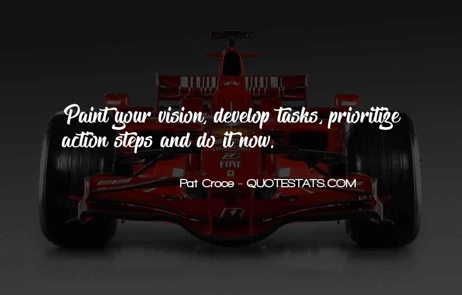 Quotes About Prioritize #65047