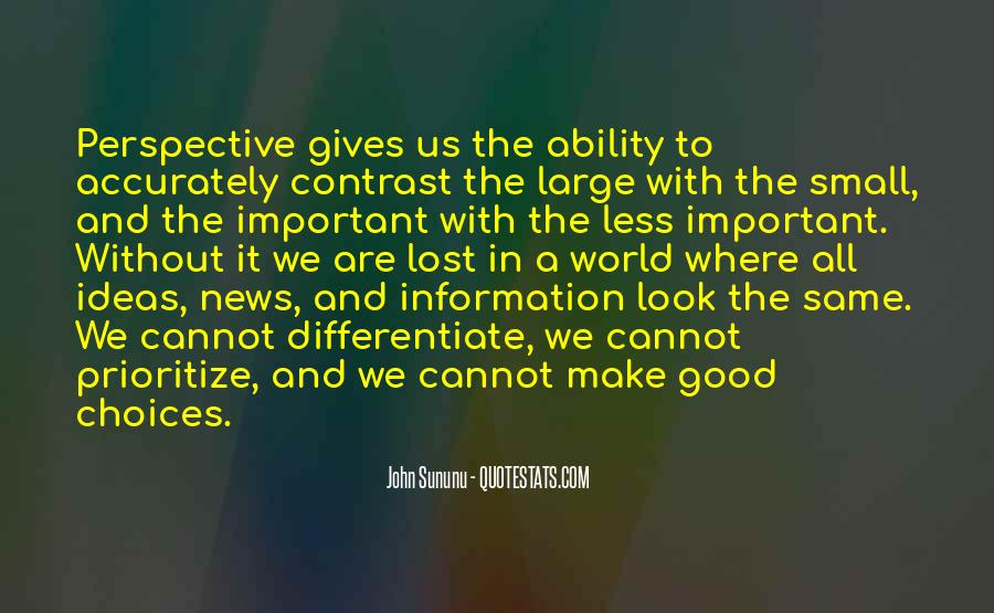 Quotes About Prioritize #673064