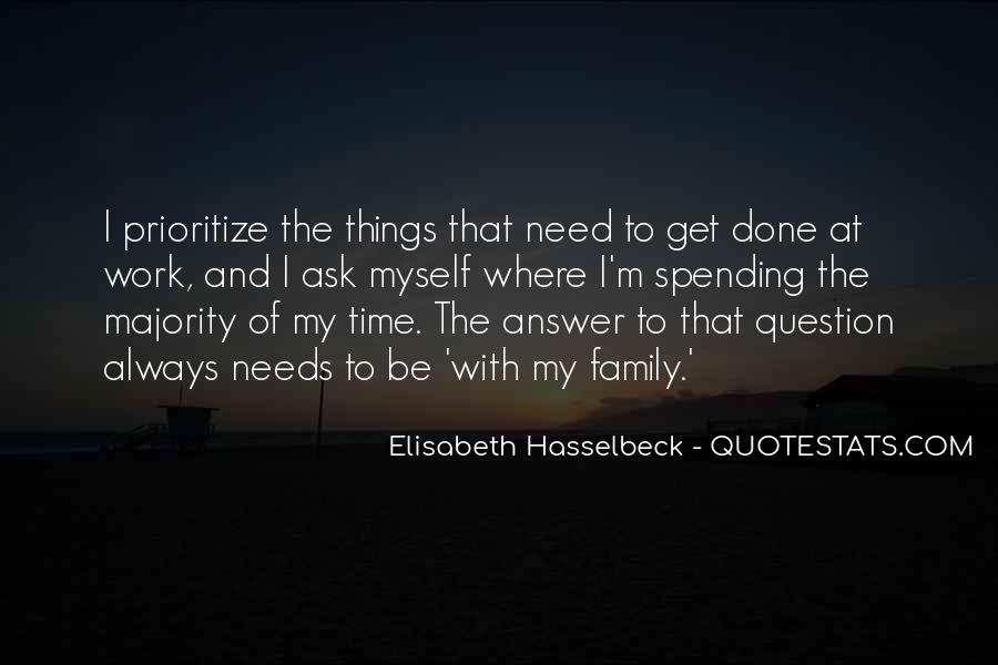 Quotes About Prioritize #72149