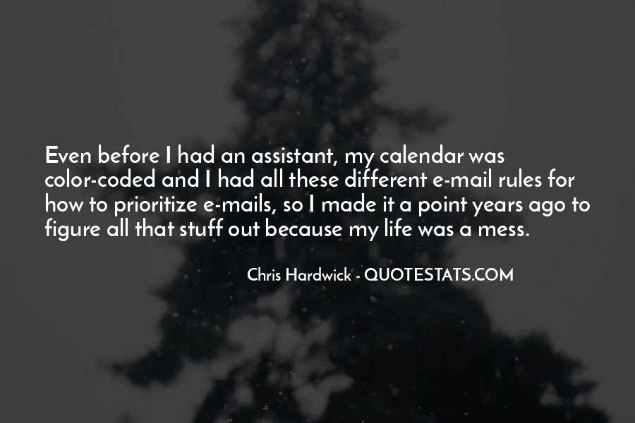 Quotes About Prioritize #754325