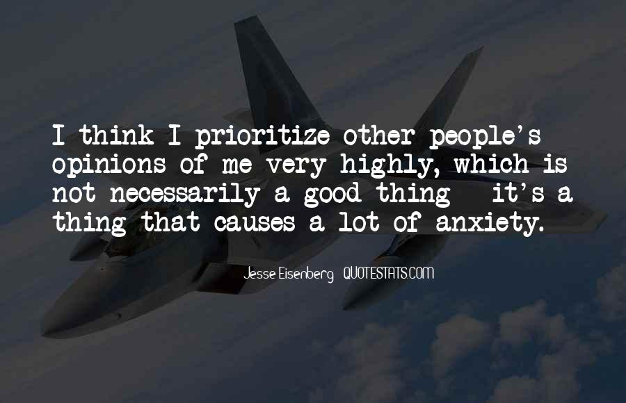 Quotes About Prioritize #774621
