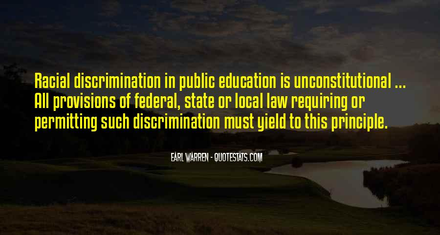 Quotes About Discrimination In Education #24443
