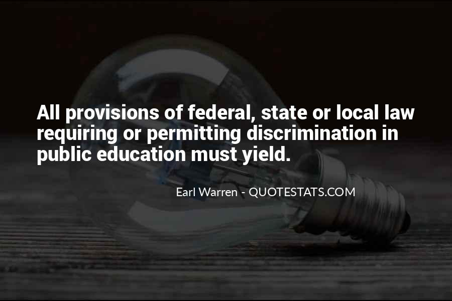 Quotes About Discrimination In Education #895674