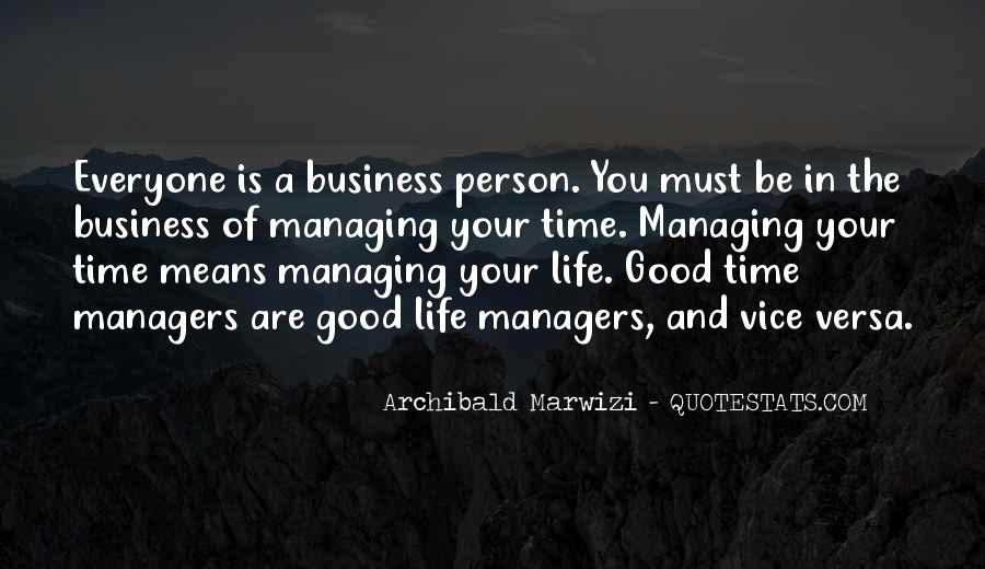 Quotes About The Purpose Of Business #1477830