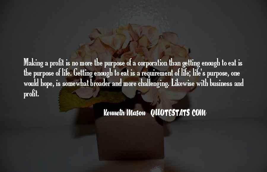 Quotes About The Purpose Of Business #1574134