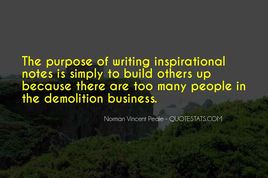 Quotes About The Purpose Of Business #1846197