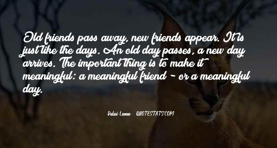 Quotes About The Important Of Old Friends #1482799