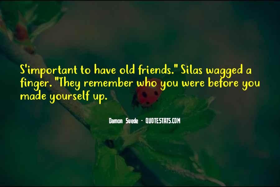 Quotes About The Important Of Old Friends #490880