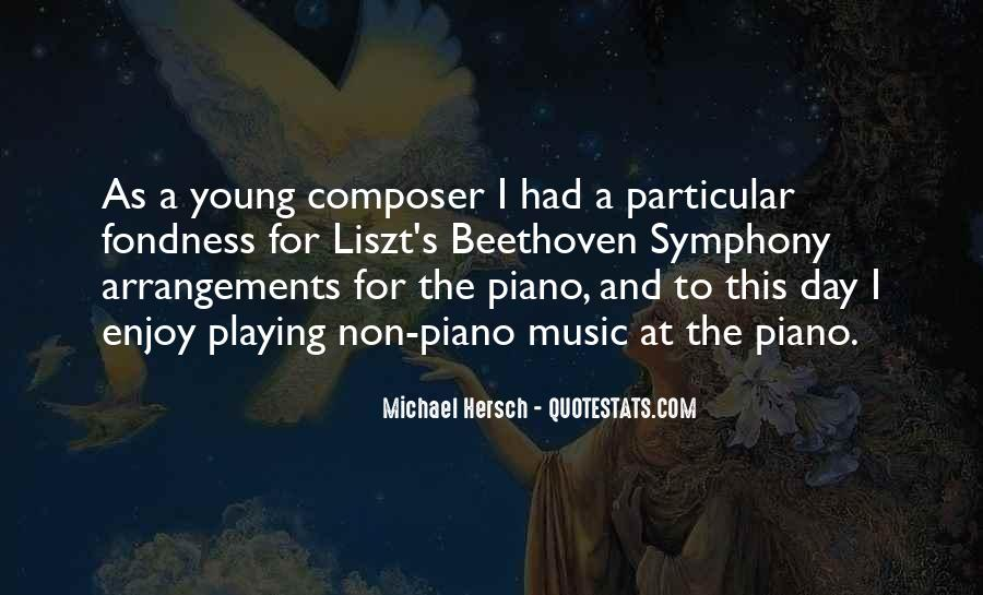 Quotes About Liszt #1732235