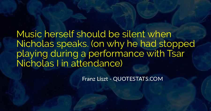 Quotes About Liszt #21610