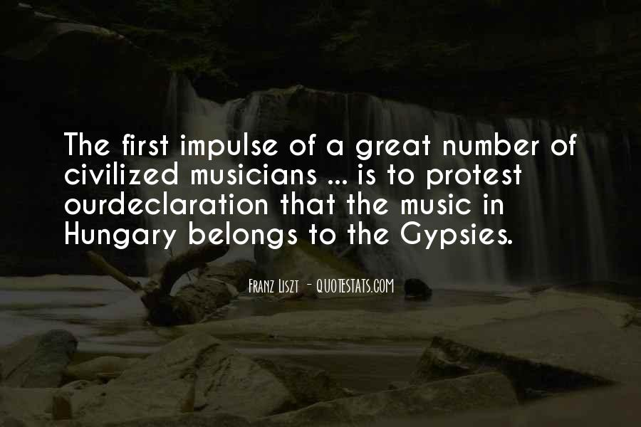 Quotes About Liszt #297915